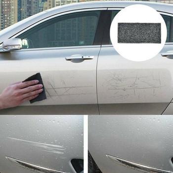 Lakier samochodowy naprawa samochodów Scratch naprawa tkaniny Nano pielęgnacja powierzchni światło Remover Voiture Efface szmaty farby Rayure Peinture Scratch P5X7 tanie i dobre opinie 20cm Nano Cloth care can repair scratch has polishing function 10cm