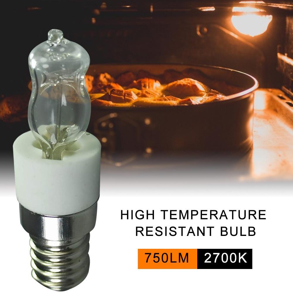 40 Вт/50 Вт E14 светильник ПА для духовки 110 В/220 В устойчивая к высоким температурам 500 ℃ безопасная галогенная лампа для сушки микроволновой пе...