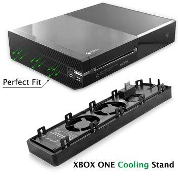Base de Control para Xbox X box One, ventilador de refrigeración, soporte...