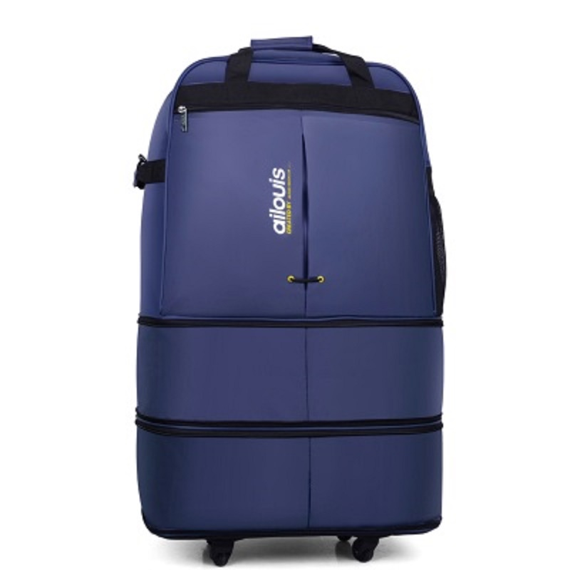 CARRYLOVE Retro 28/30 Inch Spinner waterproof portable Travel Suitcase Nylon cloth fabrics, air carrier bag, Folding bag