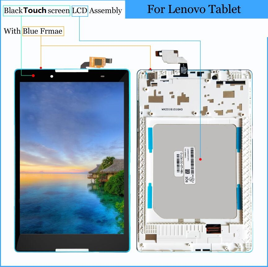 8 Inch Touch Screen Glass LCD Display Panel Digitizer Assembly For Lenovo Tab 3 TAB3 8.0 Tab3-850 TB3-850M TAB3-850F ZA17 TB-850