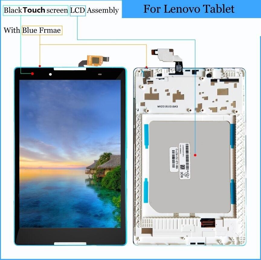 8 pulgadas de pantalla táctil de cristal LCD pantalla táctil digitalizador asamblea para Lenovo Tab 3 TAB3 8,0 Tab3-850 TB3-850M TAB3-850F ZA17 TB-850