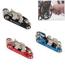 цена на Portable Bike Multi Tool Bicycle Repair Tools Hex Spoke Screwdriver 17 in 1 Kits Set Durable Road MTB Bike Cycling Tools