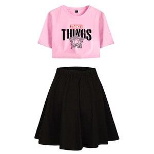 Image 2 - Strange Things T shirt, Cosplay T shirt, course à pied, Costume onze strange Things, robe de Sport