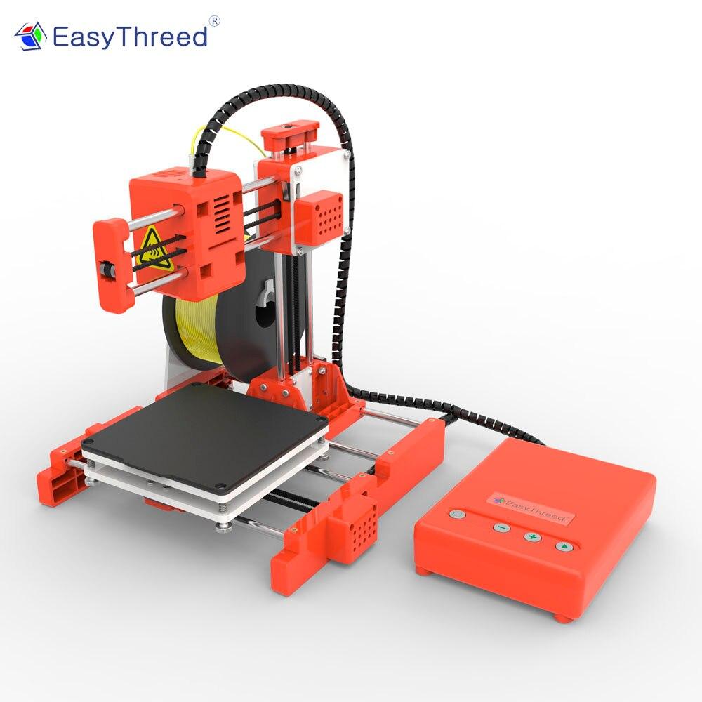 Easythreed X1 mini niedlich leicht zu verwenden, kinder kinder eductaion geschenk entry level spielzeug niedrigen kosten verbraucher persönliche student 3d drucker