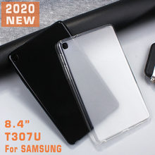 Tablet Case untuk 2020 Samsung Tab 8.4 T307u TPU Soft Back Cover untuk Galaxy Tab 8.4 Inci T307 2020 Slim Case Matte SM-T307U(China)