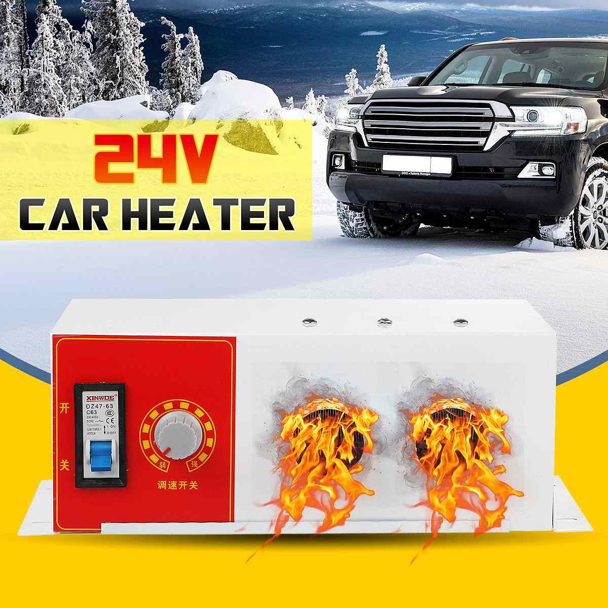 12 V/24 V voiture chauffage électrique radiateur 300-1000W verre dégivreur désembueur chauffage Machine pour RV, camping-Car remorque, camions, bateaux