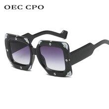 OEC CPO New Ladies Style Square Sunglasses For Women Brand D