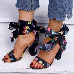 Women Summer Sandals Bow Tie B