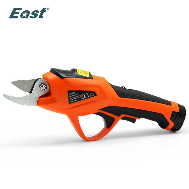 EAST Power Tools 3.6V Li-ion Battery Cordless Secateur Branch Cutter Electric Fruit Pruning Tool Shear To Ol Fruit ET1505
