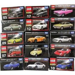 Takara tomy tomica liga modelo de carro premium caixa preta coleção série tp ferrari toyota nissan fiat honda