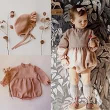 Для маленьких девочек Рубашка с длинными рукавами из хлопка