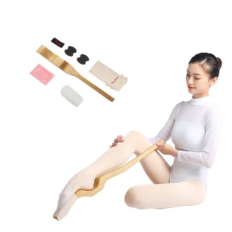 Logs alongador de pés para bailarina, ferramentas de dança e modelagem para esticar, acessórios de balé, suprimentos para exercício de madeira
