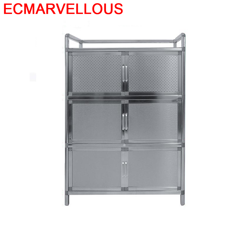 Bestek Lade For Room Sidebord Mobiliario Aluminum Alloy Side Tables Meuble Buffet Kitchen Furniture Cupboard Cabinet Sideboard