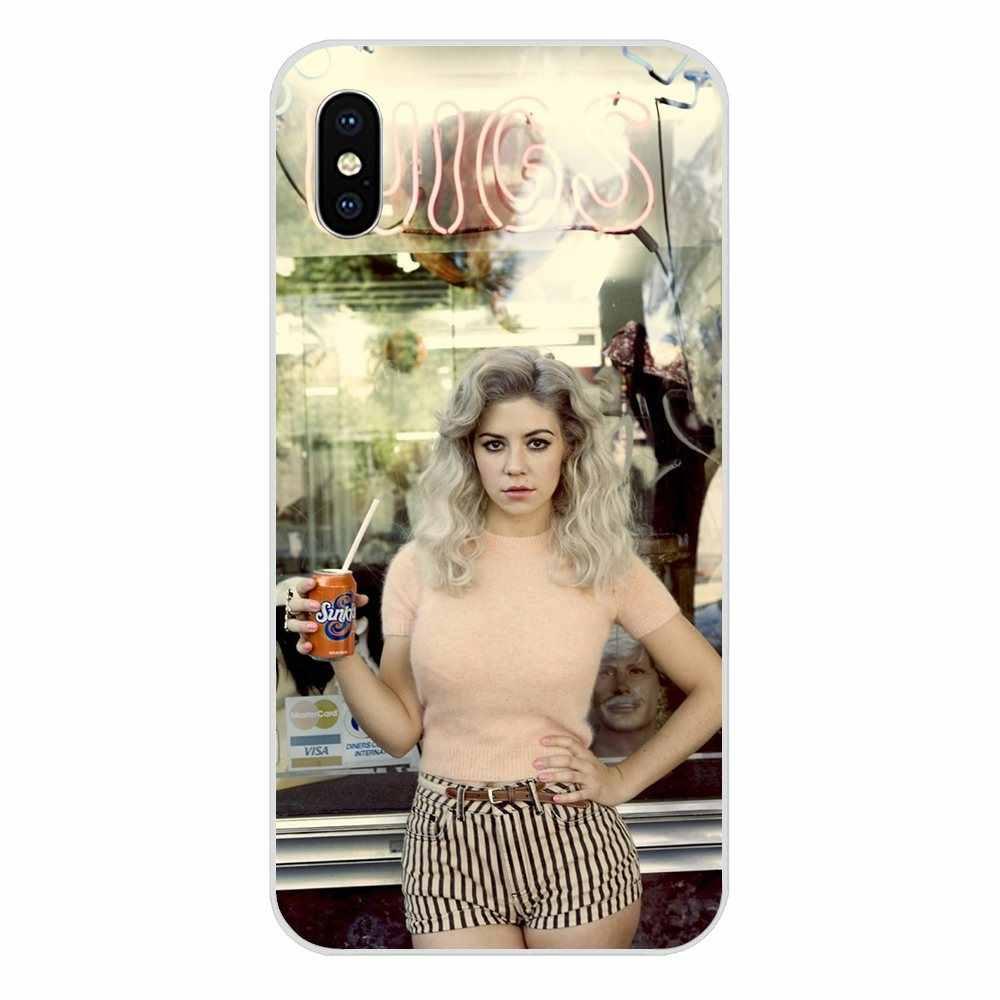 Marina dan Berlian Herat Warna-warni untuk Samsung Galaxy Note 5 8 9 S3 S4 S5 S6 S7 S8 S9 s10 5G Mini Edge Plus Lite