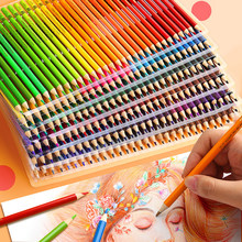 Sketching Painting Oil Pencil 48/72/120/160 Colors Professional Watercolor Wood Colored Pencils painting Drawing colour colours