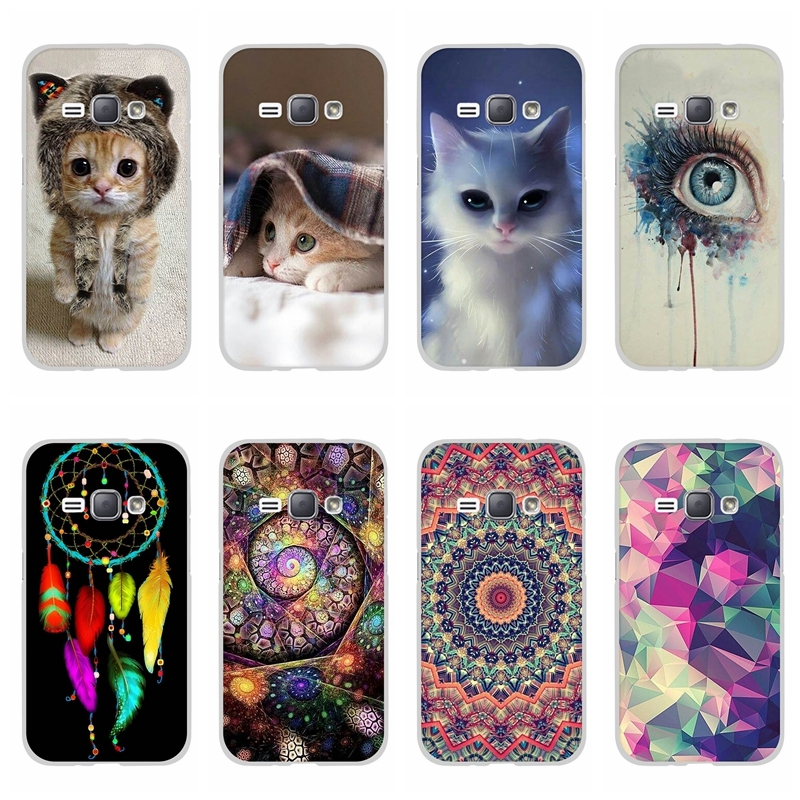 Case For Samsung Galaxy A7 2018 A750 Cover Soft Silicone Back Cover For Galaxy A3 Bumper Case For Samsung J1 2016 / J2 Core J260 image