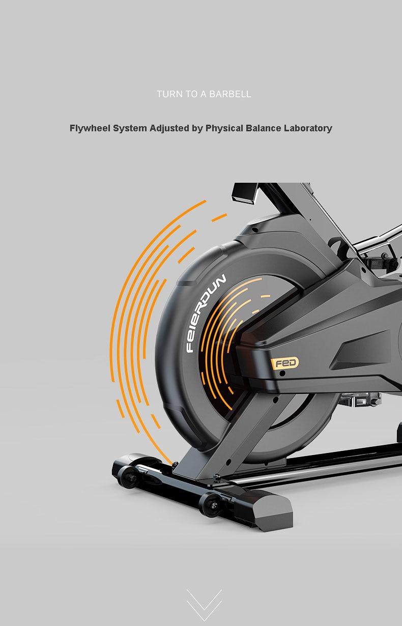 de exercício silencioso para perda de peso e movimentação, para ciclismo