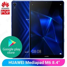 Huawei-Tablet gamer Mediapad M6 8,4 polegadas original, PC Kirin980 octa-core, Android 9.0 6100mAh, para Google Play
