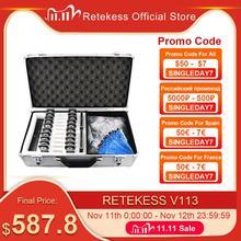 RETEKESS T130 نظام مرشد سياحي لاسلكي شحن + 2 جهاز إرسال + 30 جهاز استقبال لترجمة الكنيسة اجتماع عمل المصنع