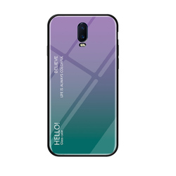 На Алиэкспресс купить стекло для смартфона case for oppo a5 a52 a7x a83 a9 2020 gradient glass hard shell for oppo r9 r11 s r15x r17 plus phone caser anti-fall back cover
