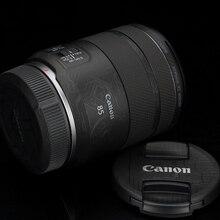 Премиальная наклейка на объектив RF85 F2 для Canon RF85mm F2 MACRO IS STM, защита для объектива, пленка для защиты от царапин, пленка, наклейка