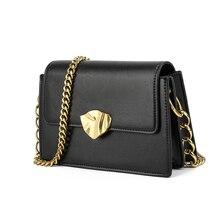 luxury handbags women bags designer Version Luxury Wild Girls Small Square Messenger Bag bolsa feminina With Metal Buckle