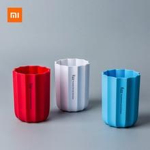 3 Colors Xiaomi Youpin Fizz Edge Series Pen Holder Office Organizer Desktop Pen Holder Makeup Brush Plastic Container Home