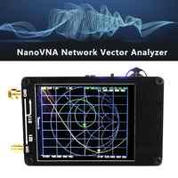 NanoVNA 50KHz-900MHz Vector Network Analyzer Digital Touching Screen Shortwave MF HF VHF UHF Antenna Analyzer Standing Wave