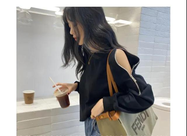 Женский укороченный пуловер Свободный Топ с длинным рукавом