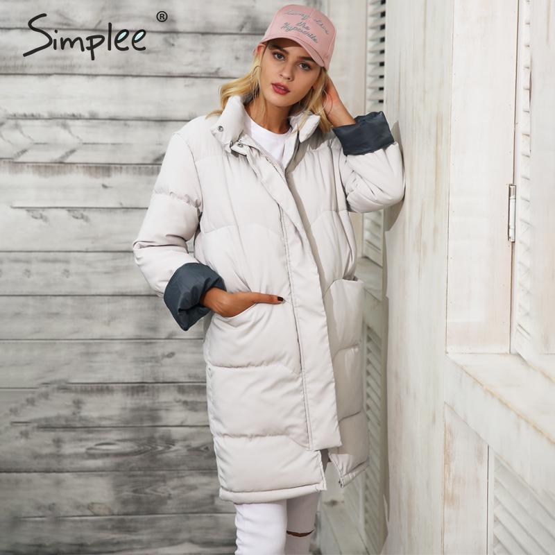 SIMPLEE Moekas jakk