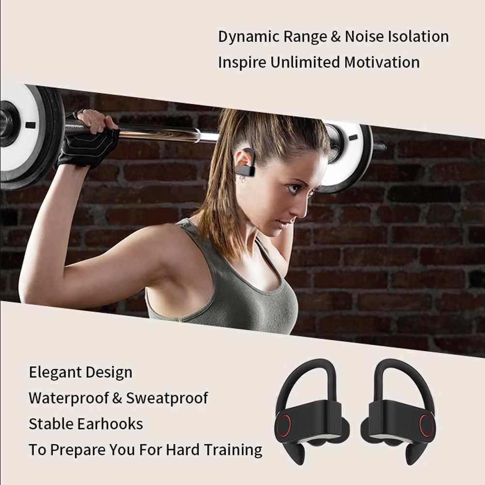 ICEICE A9 TWS Bluetooth thật Tai nghe nhét tai không dây 8 giờ nghe nhạc Bluetooth 5.0 không dây Tai nghe chụp tai Chống Nước thể thao Tai nghe chụp tai