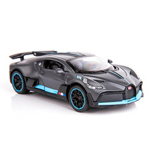 1/32-Alloy Bugatti Car-Model Sport Car with Base Divo Size-14.5cm Collective Collective