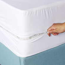 Six Sides Waterproof Dustproof Anti-Fouling Mattress Protective Cover Solid Color and a Variety of Specifications.