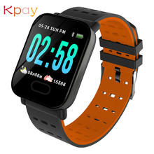 Waterproof A6 Smart Watch Men Women Clock Heart Rate Monitor Sport Fitness Tracker Blood Pressure Call Reminder Android Watch smart watch band men women blood pressure oxygen monitor men women heart rate tracker call message reminder sport fashion watch