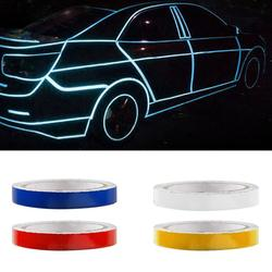 Mountain Bike Reflective Stickers Car Reflective Strips Fluorescent Strips Luminous Reflectors Motorcycle Stickers Decoration