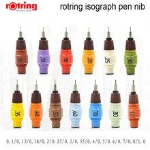 Roturing stylo isographe plume de remplacement, 0.1mm 1.0mm pour choisir 1 pièce/lot
