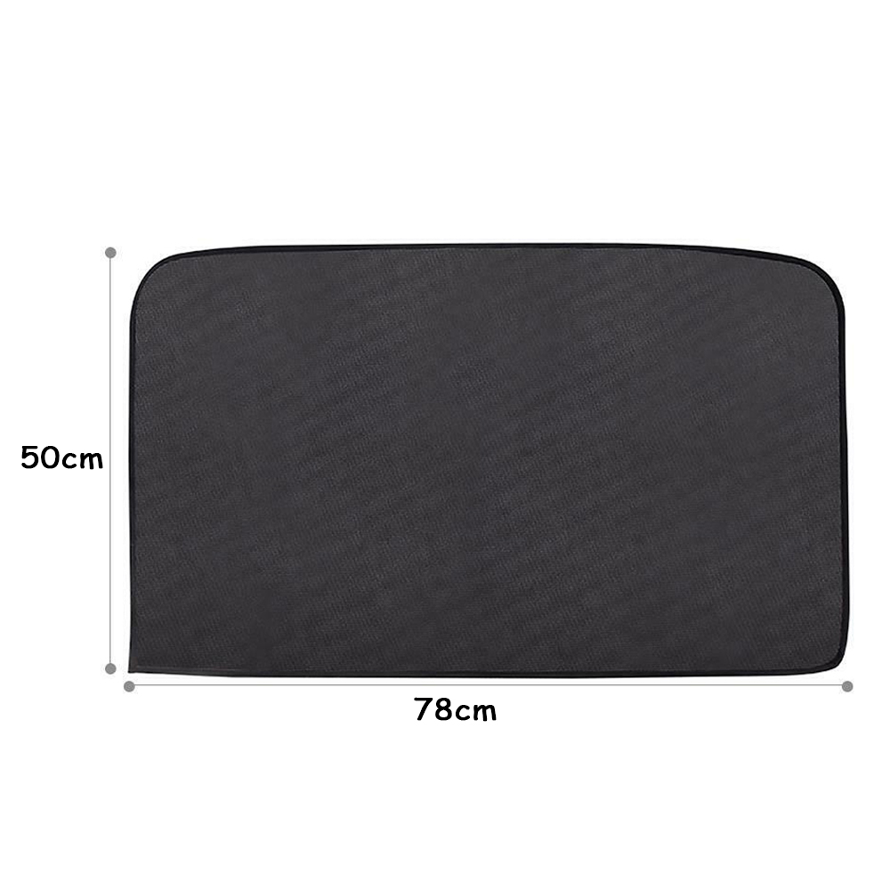 78x50cm Rear Magnetic Car Side Window Rear Passenger Side Sun Shade Visor Anti-UV Cover Sunshade