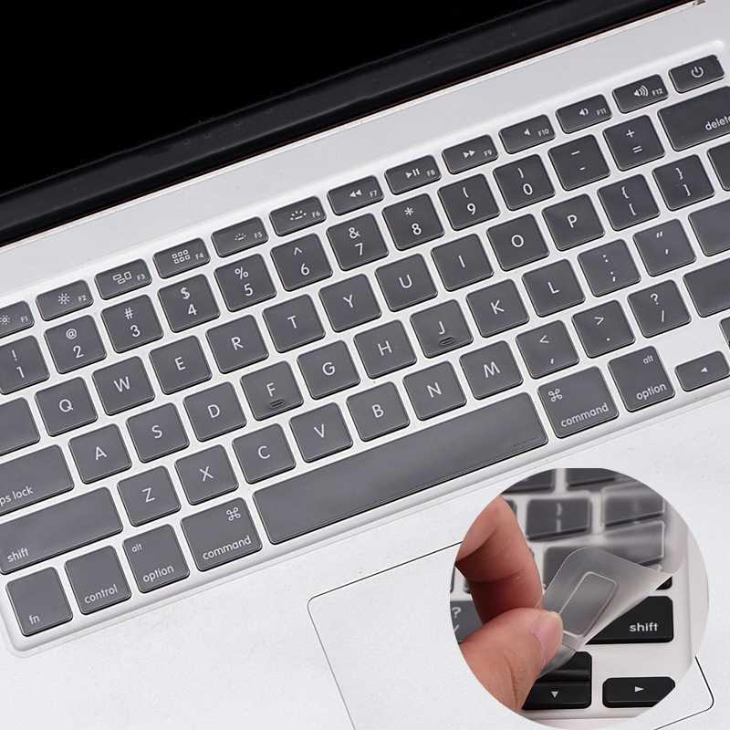 1 個米国 Eu ラップトップスキン手帳プロテクターキーボードステッカーアップルの macbook プロ 13 15 17 空気 13