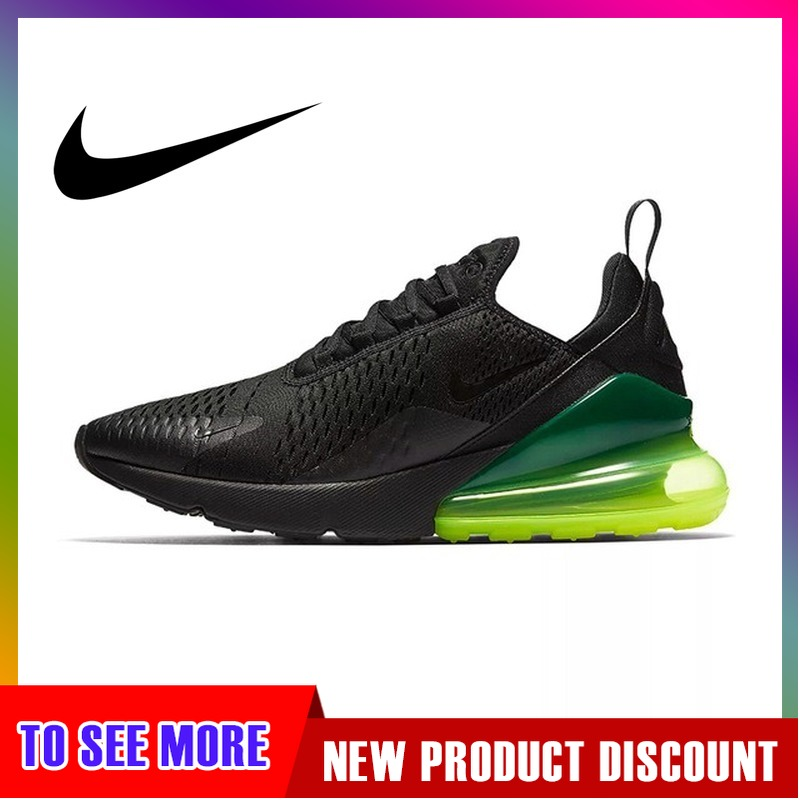 Original Nike AIR MAX 270 Men's Running Shoes 2019 New Outdoor Sports Shoes Fashion Comfortable Elastic High Shoes AH8050-011