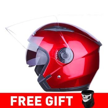 JIEKAI Motorcycle Helmet Open Face Helmets Motocicleta Cascos Para Motorbike Scooter Riding Safety Helmet Cascos Para Moto 11