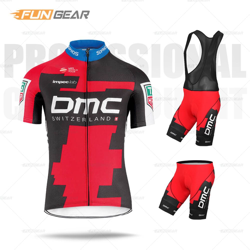 Pro Team Cycling Clothing Bmcing Jersey Set Men Triathlon Bike Skinsuit Bicycle Clothes Quick-Dry MTB Wear Ropa Ciclismo Maillot