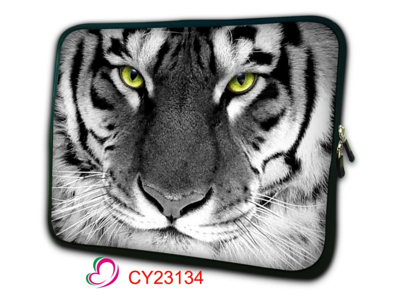 White Tiger Head laptop sleeve bag case <font><b>cover</b></font> pouch skins For <font><b>Apple</b></font> <font><b>Macbook</b></font> <font><b>Pro</b></font> Air 13.3 MC white 11 12 13 <font><b>15</b></font> 17