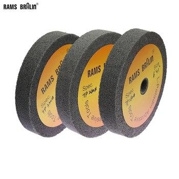 1 Piece 150*25mm Stainless Steel Polishing Buffing Wheel Bench Grinder Abrasive Wheel