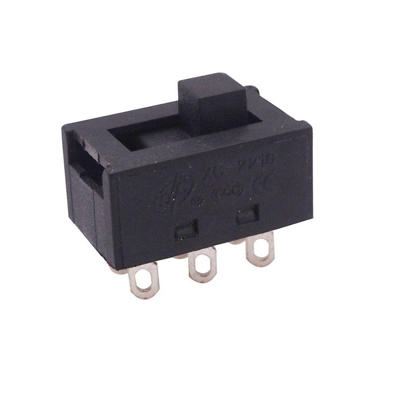 Качественные медиаторы 5 шт. 6 контактов двухступенчатый переключатель Номинальный тепловой ток 30 А огнестойкий класс ABS электрические изделия