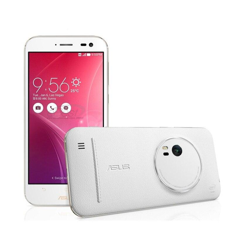 """Asus zenfone zoom zx551ml 4g smartphone 5.5 """"fhd z3580 4 gb/64 gb 3x óptico-zoom câmera celular android"""