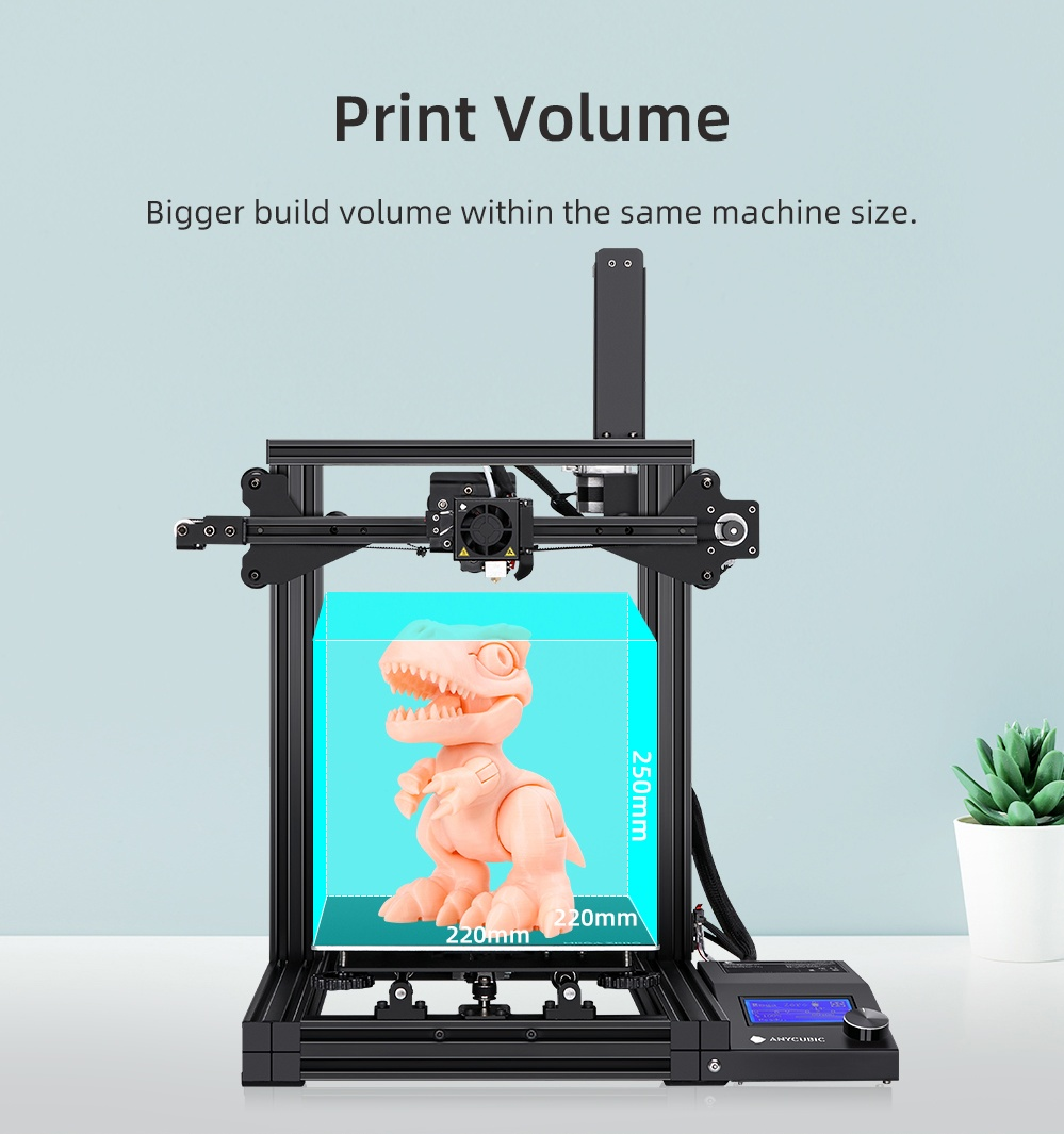 Image 4 - ANYCUBIC i3 Mega Series 3d Printer Mega S/Mega X/Mega Zero Full Metal Frame Touch Screen High Precision 3d drucker impresora 3d3D Printers   -