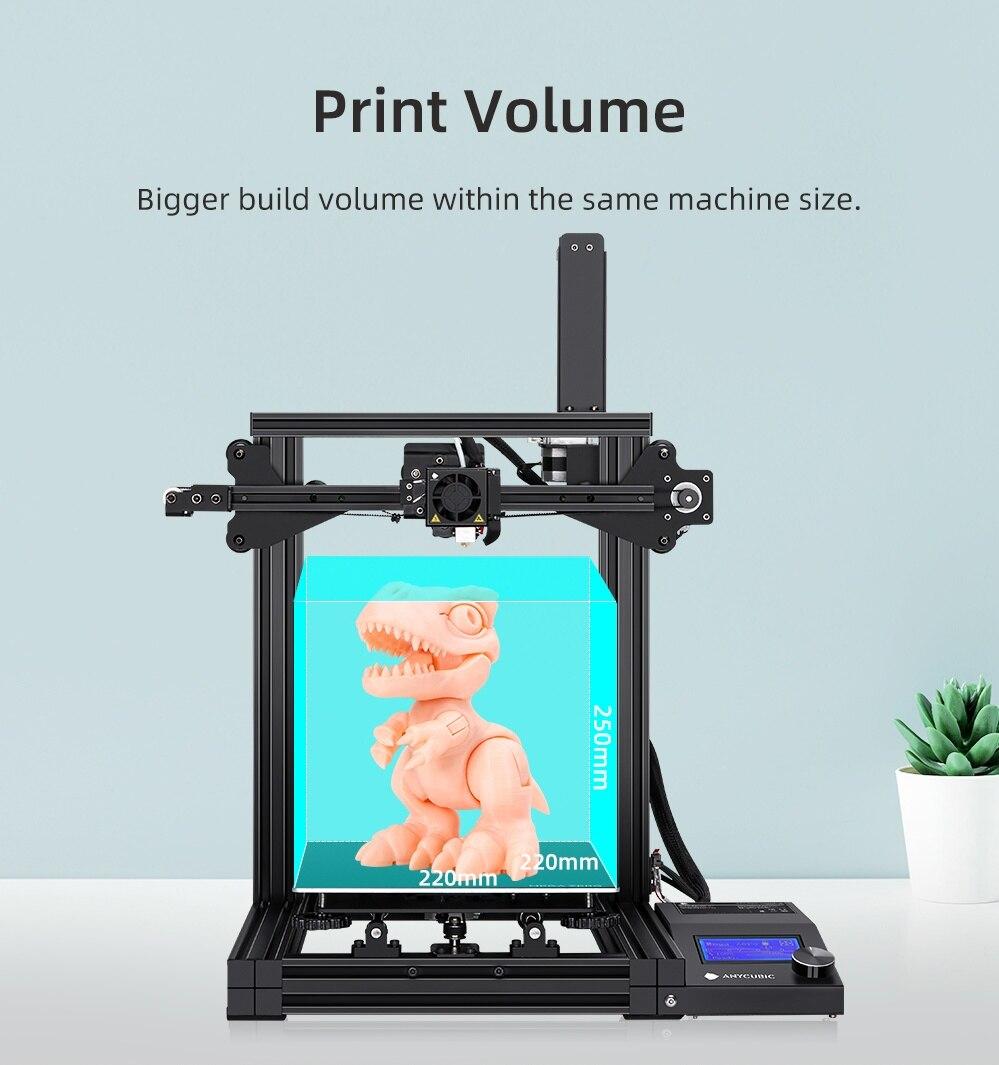 Image 4 - ANYCUBIC i3 Mega Series drukarka 3d mega s/mega x/mega zero pełna metalowa rama z ekranem dotykowym wysoka precyzja 3d drucker impresora 3dDrukarki 3D   -