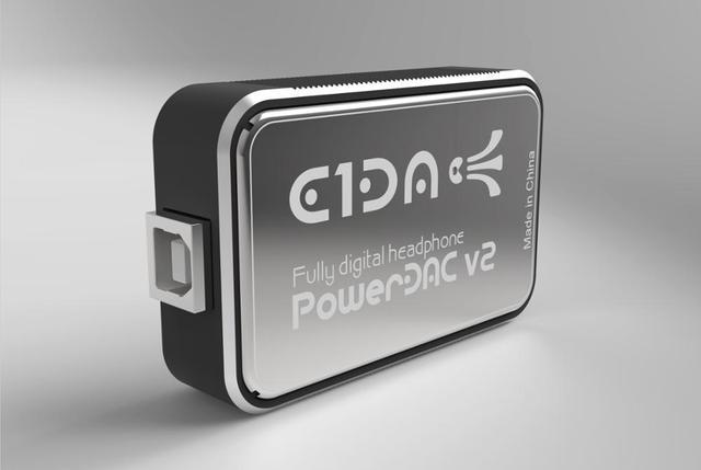 PowerDAC v2 E1DA Headphone Amp PEQ DSP BLE DAC and Cables
