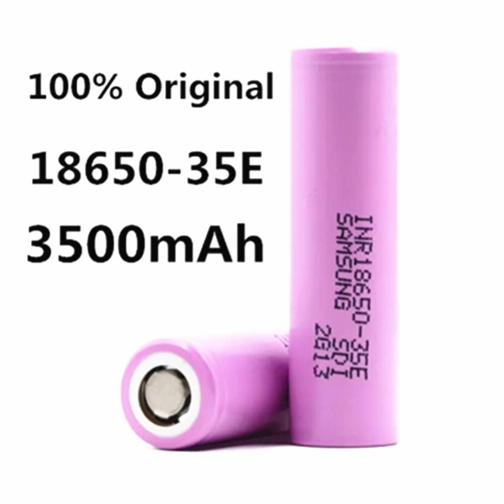1 ~ 20 шт. 100% оригинальный 18650 35e 3500 мАч 13A разряд INR18650 35E 18650 аккумулятор li ion 3,7 в перезаряжаемая батарея|Перезаряжаемые батареи| | АлиЭкспресс